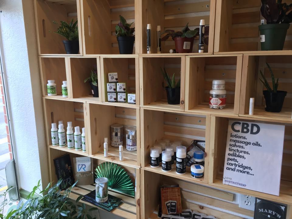 cbd store display