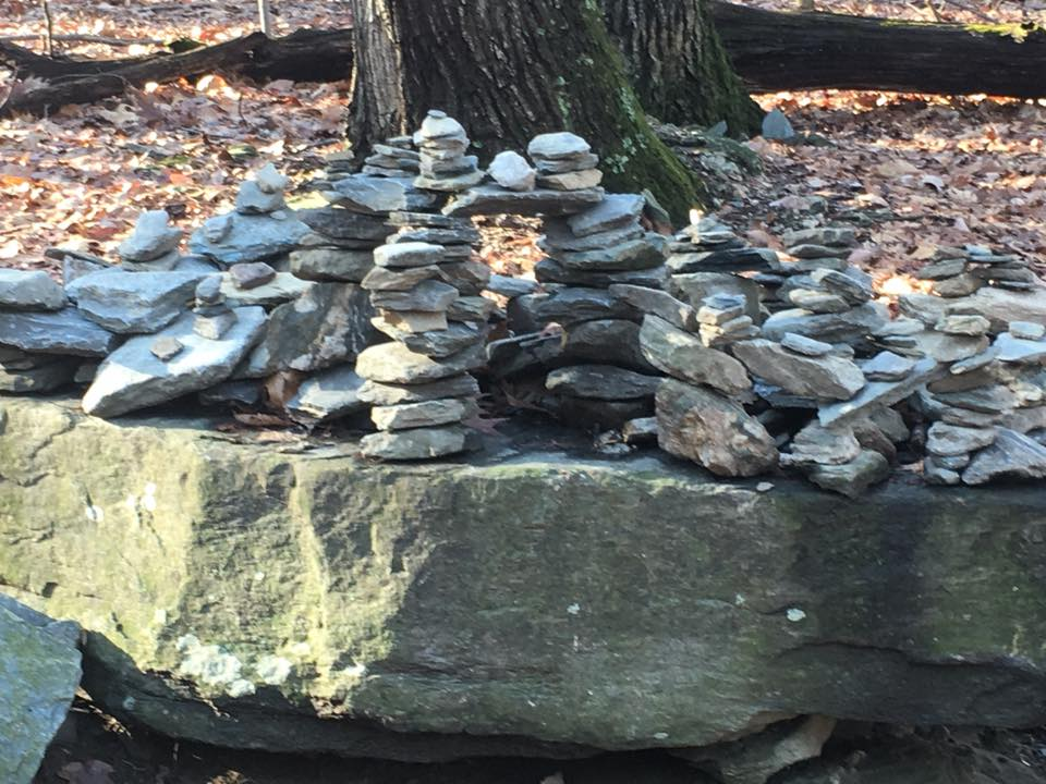 photo of rocks piled up