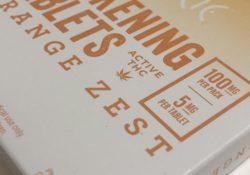 Dixie Awakening Orange Zest Tablets Curio Maryland package