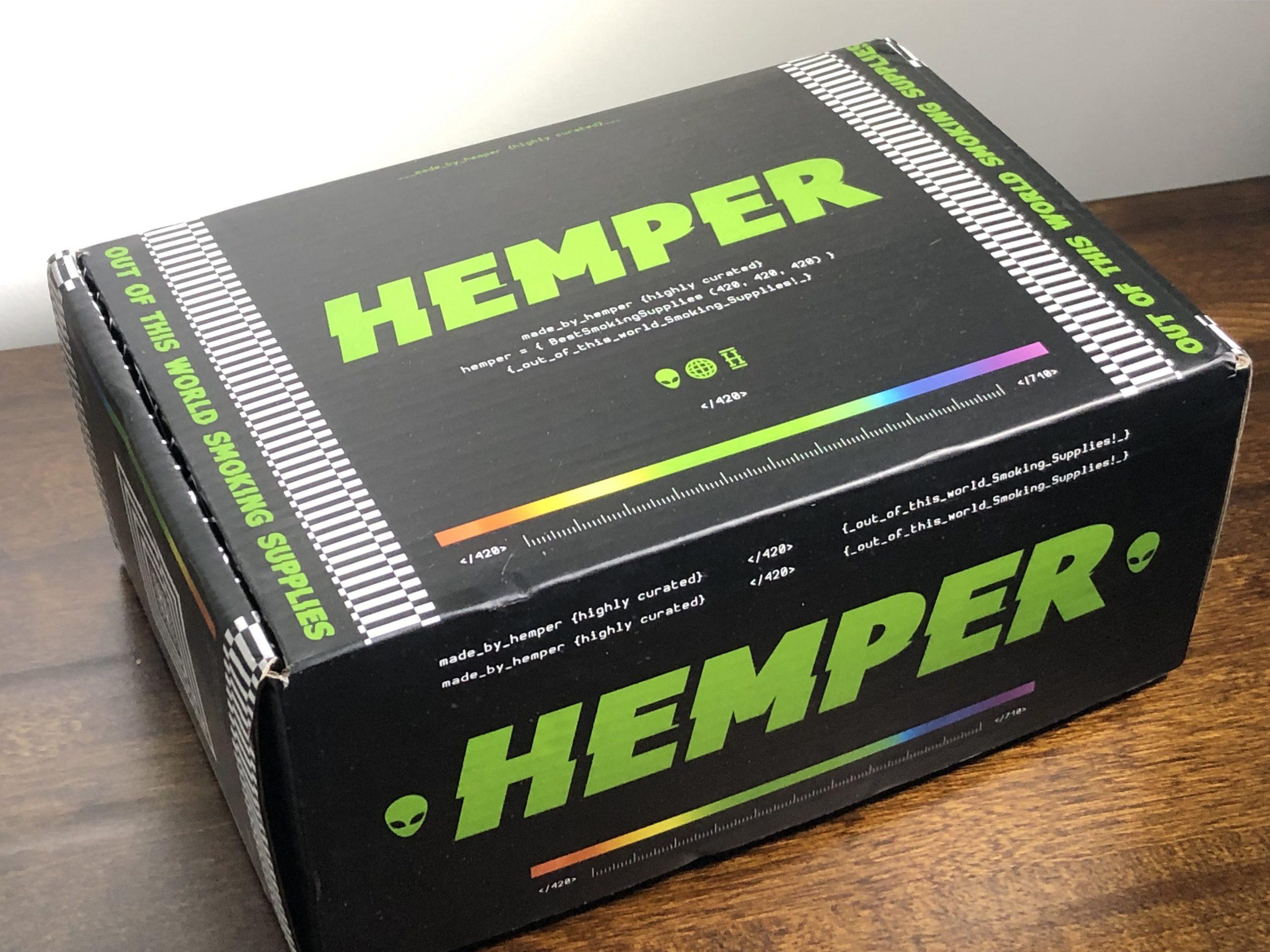 Hemper Box closed