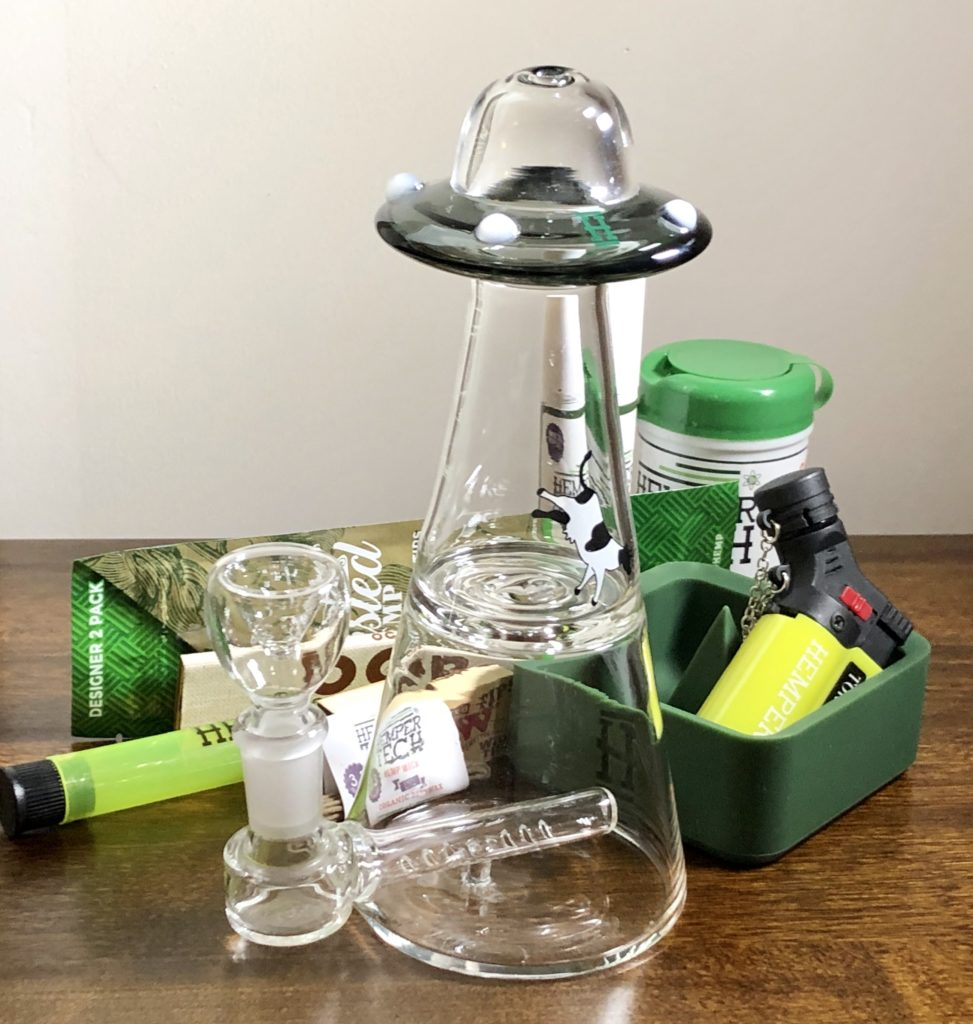 Hemper Feb UFO Rig Marijuana Equipment
