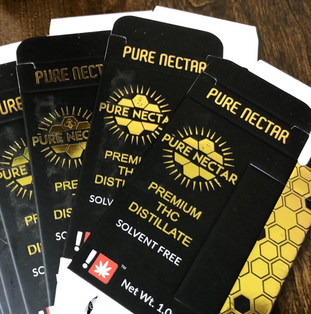 Pure Nectar fake vape box