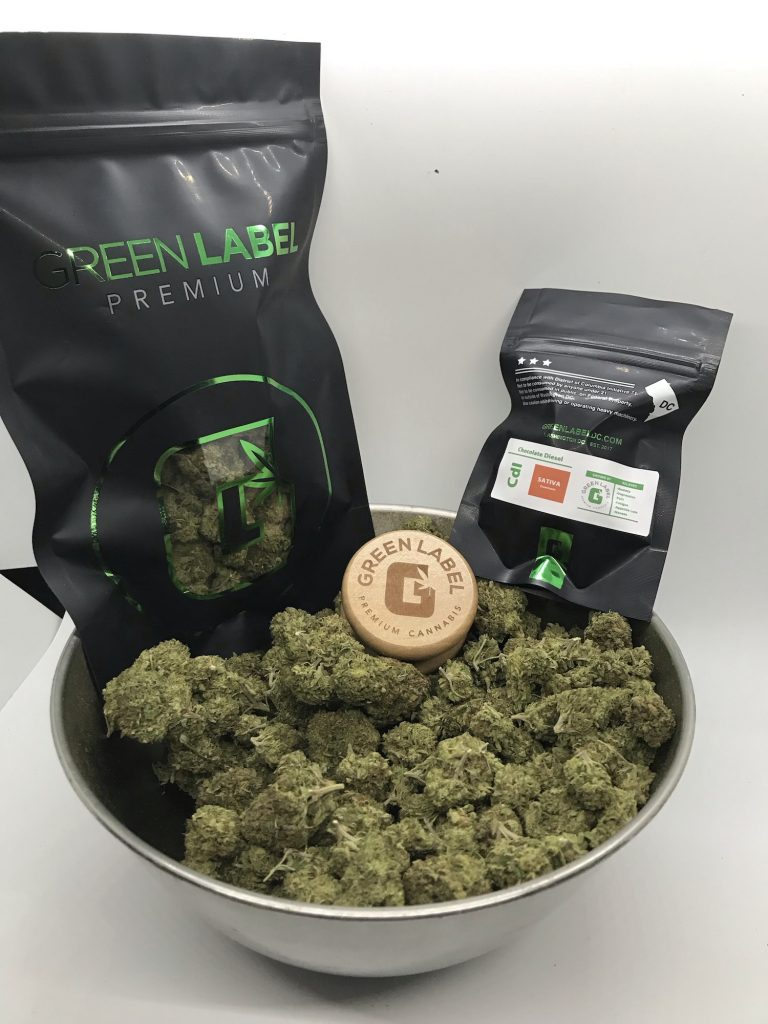Chocolate Diesel DC weed photography