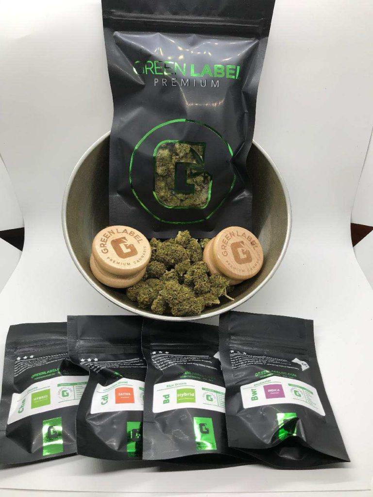Green Label marijuana flowers dc weed photography