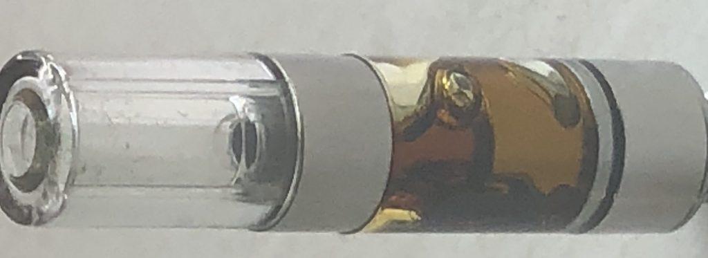 UKU HMS Health Maryland weed Cherry AK vape cart oil close up photo