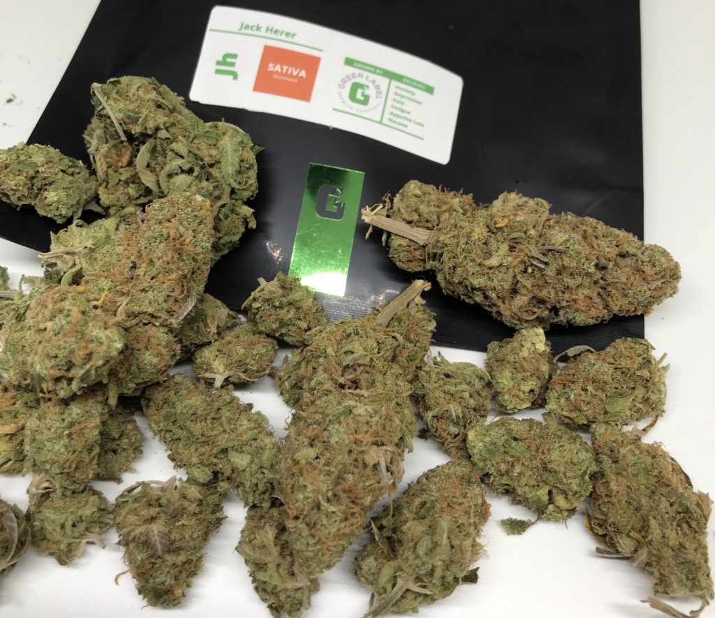 Jack Herer dc green label weed photography