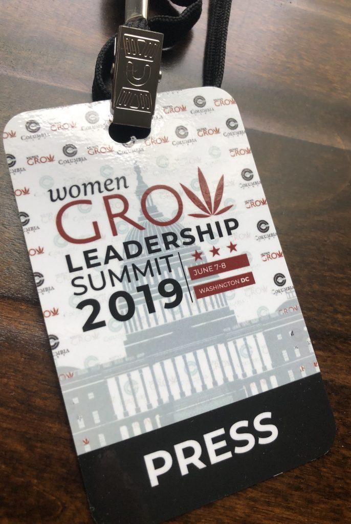 Press Credentials Women Grow Leadership Summit 2019 photo