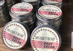 district hemp cbd body lotion photo