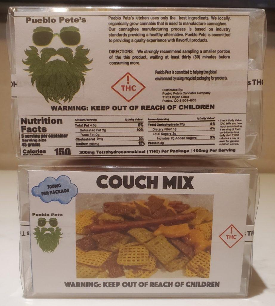 pueblo petes couch mix marijuana edibles district chiefer dc