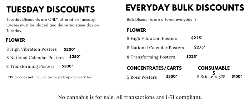dope city dc discount list