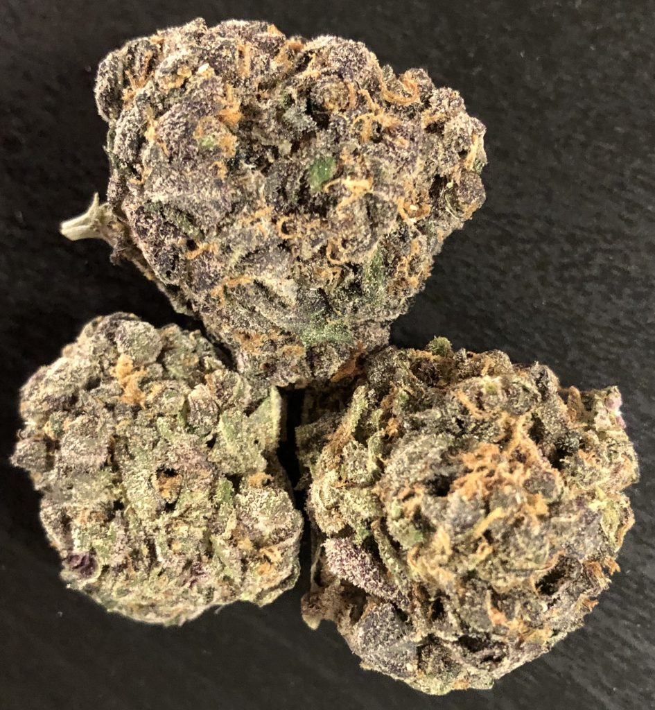 baked dc blue venom marijuana flowers