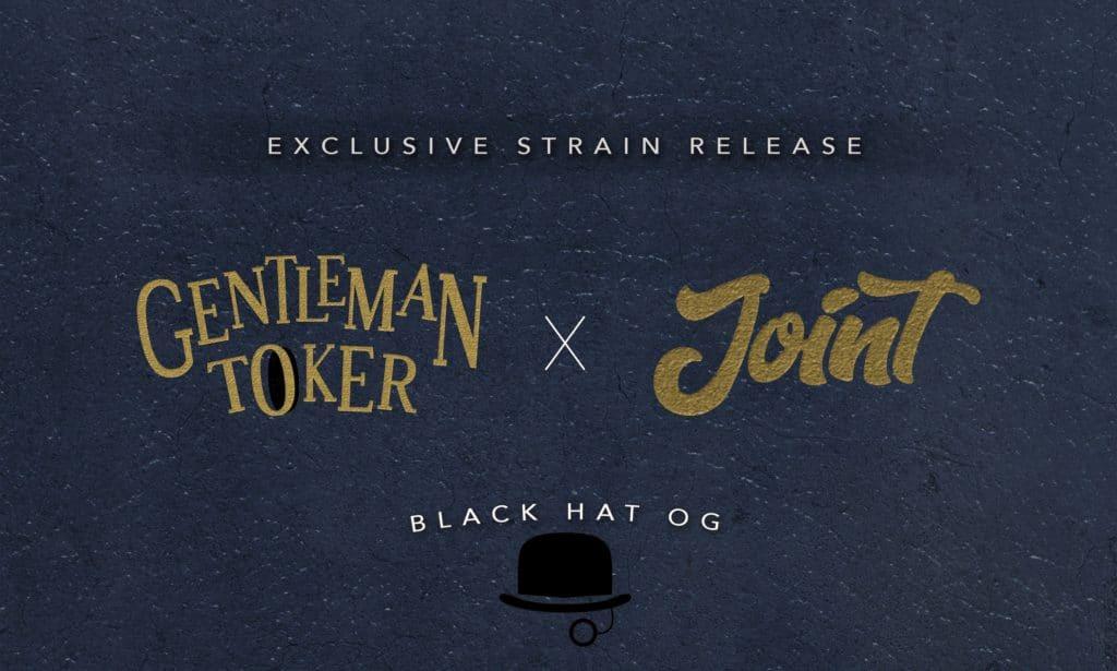 Black Hat OG Weed Strain GT Joint Delivery Collaboration Banner
