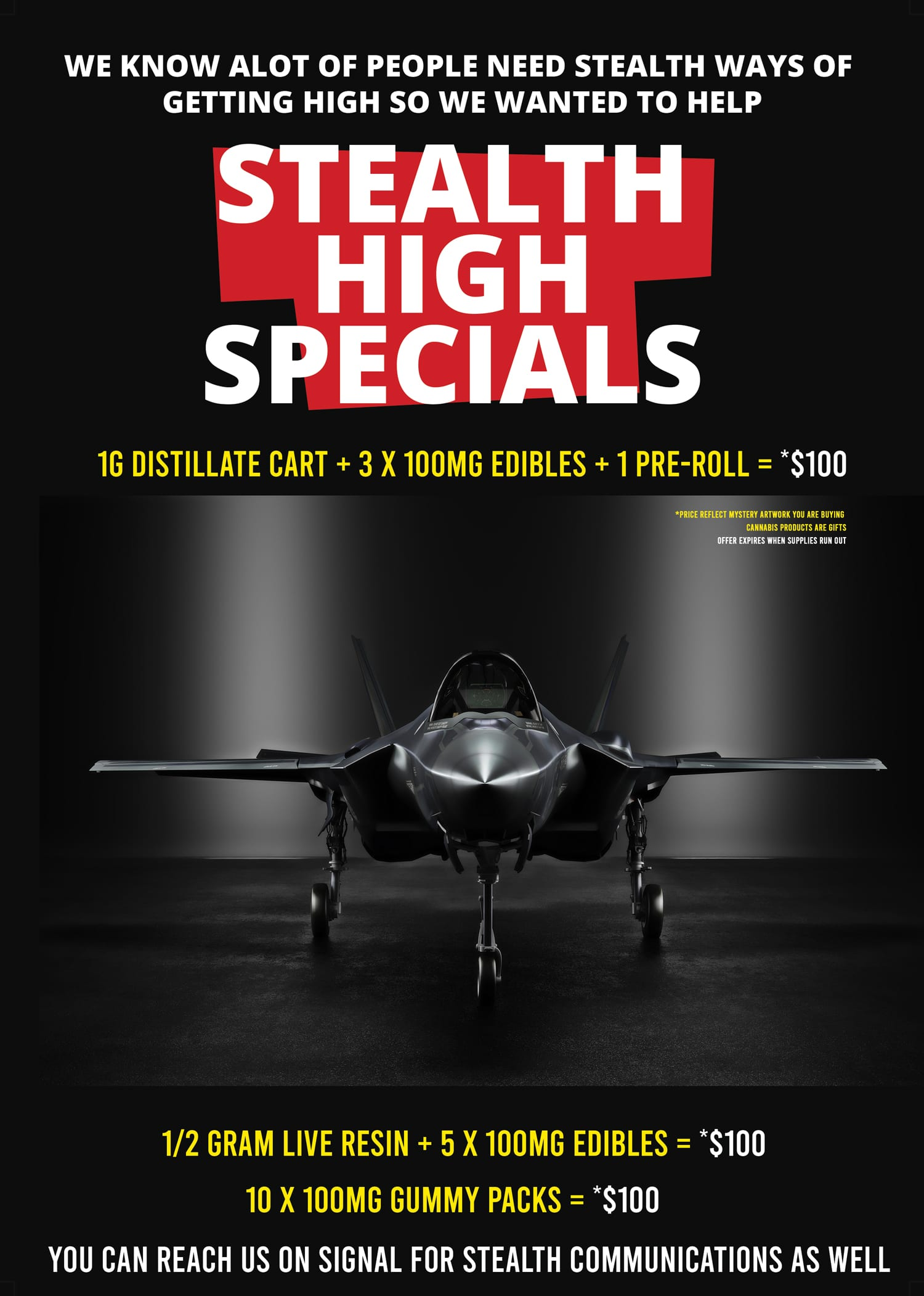 puff kings dc stealth high special promo image