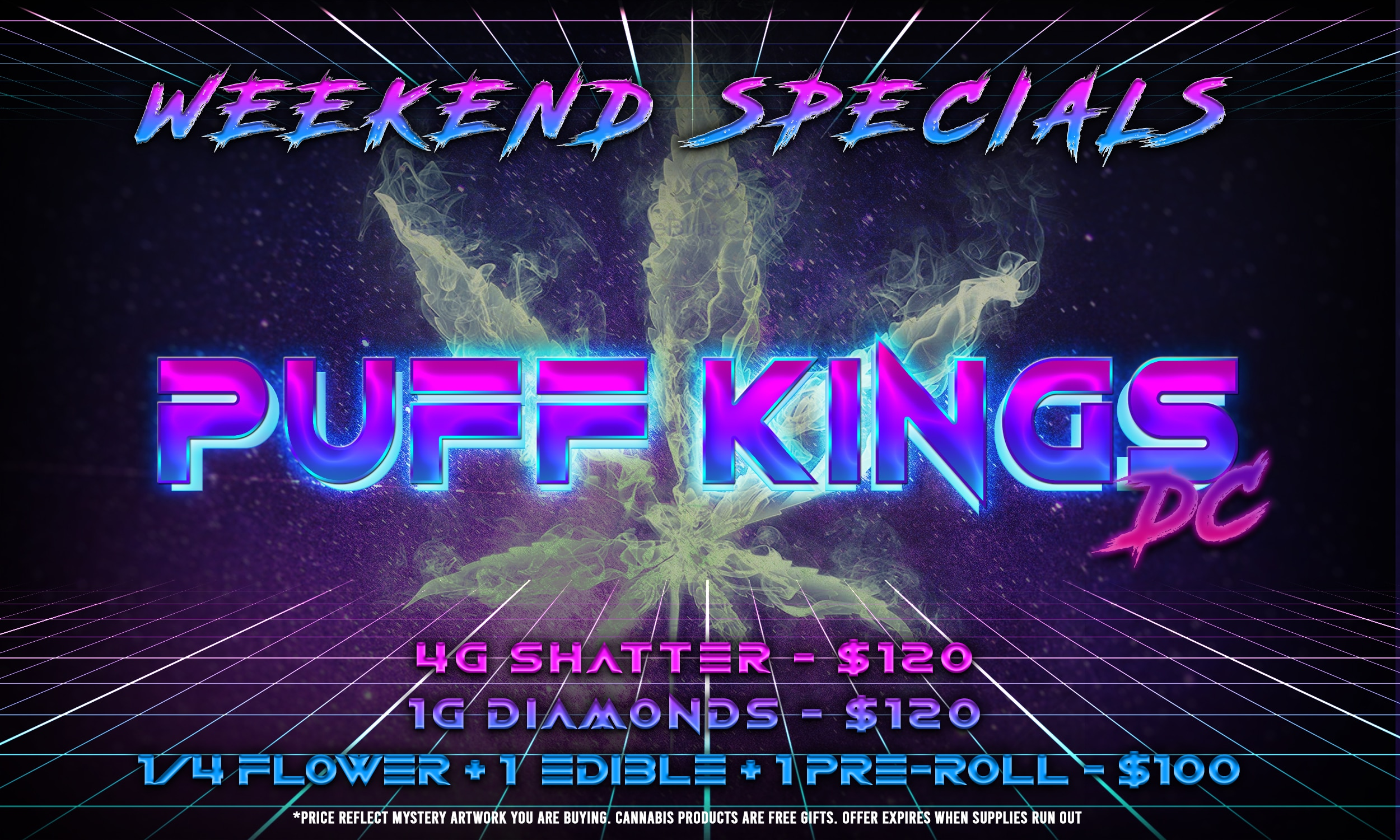 puff kings 9/17/20 flyer
