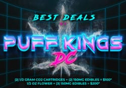 puff kings dc edibles plus specials flyer