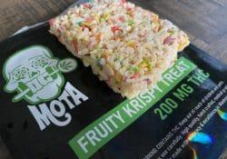 mota fruity krispy treat edibles photo