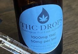 baked dc thc drops weed tincture photo