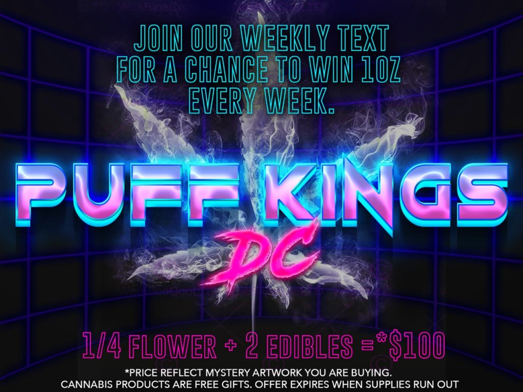 puff kings weekly giveaway ad