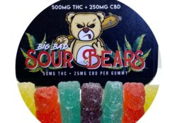 big bad sour bears weed edibles photo