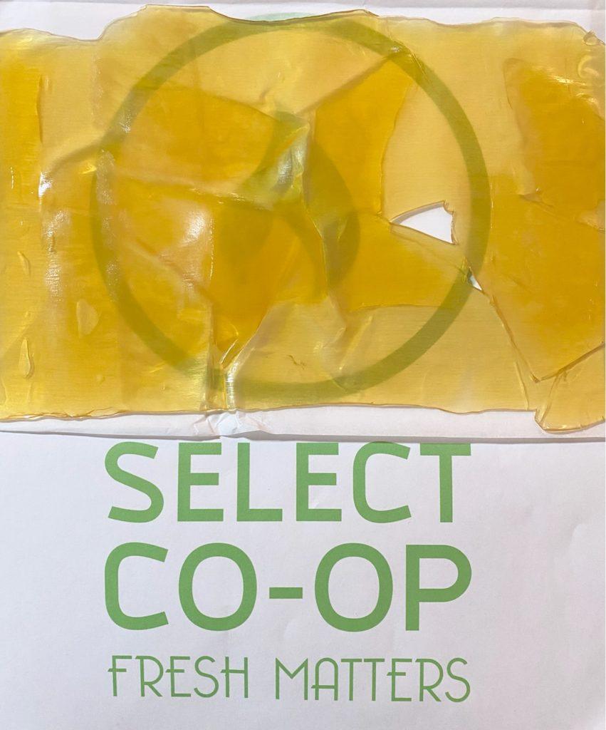 Select co-op dc lemon gelato shatter concentrate photo