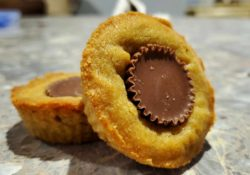 athenas gifts dc peanut butter cup cookie edible photo