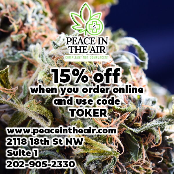 peace in the air 15 off flyer