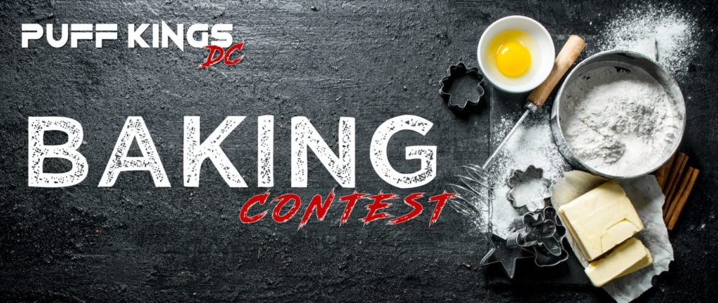 puff kings dc baking contest flyer