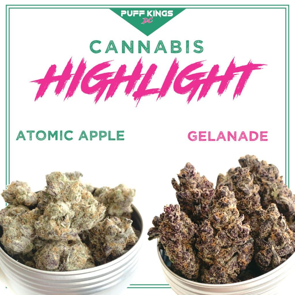puff kings dc atomic apple gelanade weed photo
