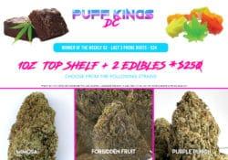 puff kings top shelf trio flyer
