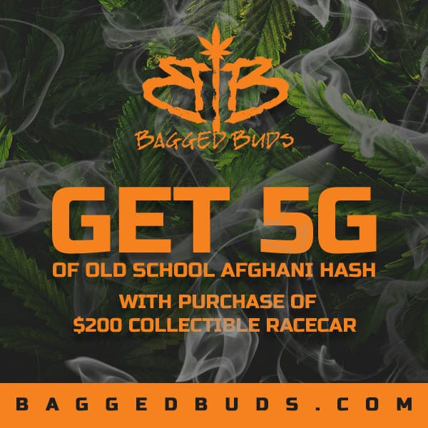 bagged buds hash deal flyer