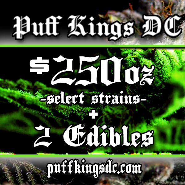 puff kings ounce edibles deal ad