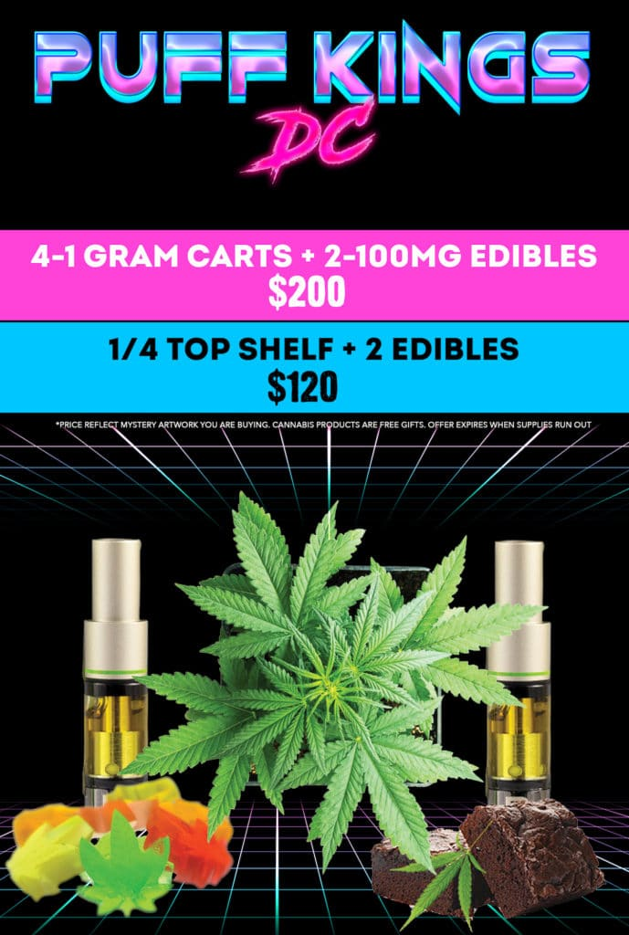 puff kings dc 420 forever specials flyer