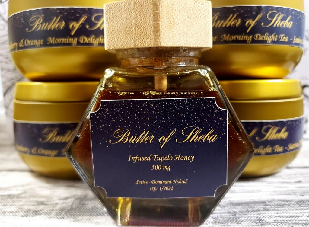 butter sheba weed infused tupelo honey edibles photo