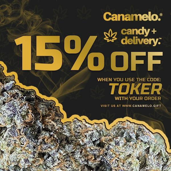canamelo deals 15% off ad