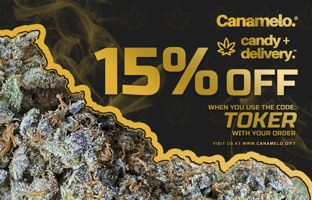 canamelo 15% off banner
