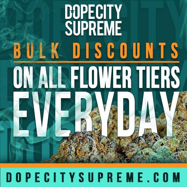 dope city supreme flower oz special