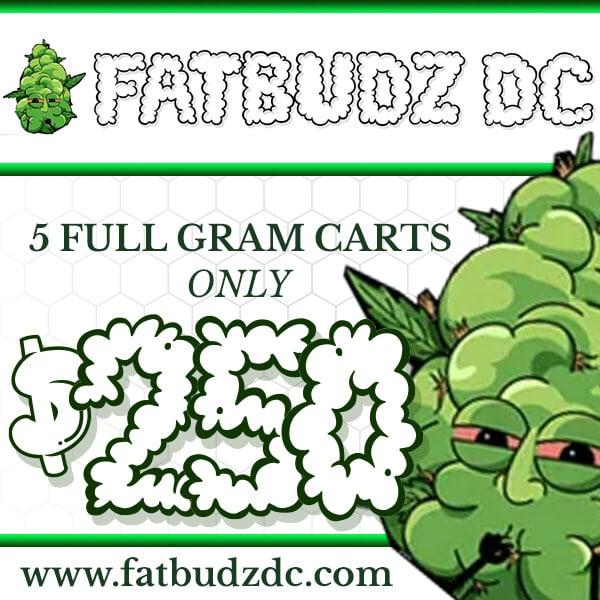 fat budz dc cart deals ad