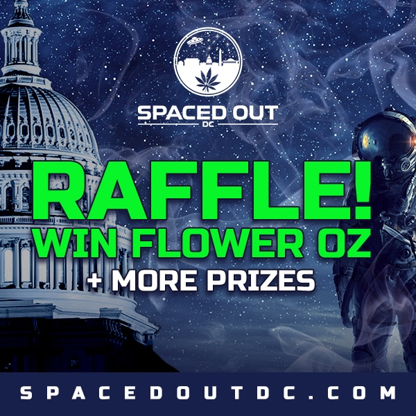 spaced out deals raffle ad