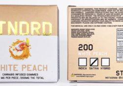 stndrd white peach thc gummies