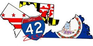 dmv42zero logo
