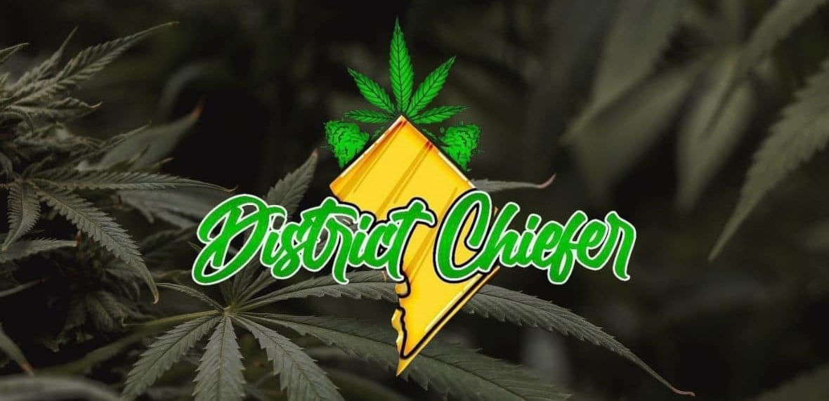 district chiefer weed logo
