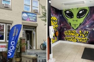 spaced out dc interior store photo