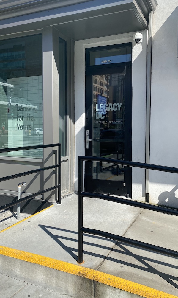 legacy dc dispensary storefront